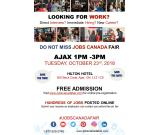 FREE: Ajax Job Fair - October 23rd 2018