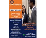 ADMISSION INTO The ICT University USA, Cameroon Campus