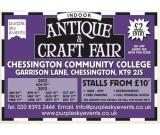 Antique, Collectable, Craft & Gift Fair in Chessington