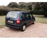 Vauxhall Zafira Comfort 16v 1.8 cc 7 seater in blue. seats Tax & Mot end of Jan 2015