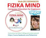 FIZIKA MIND : Certificate in AutoCAD [Mechanical Engineering ]  (from Home with Skype)