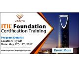 Get opportunity to learn ITIL® from highly experienced trainers across KSA