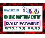 Home Based BPO Job Copy paste Job captcha entry daily payment