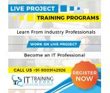 LIVE PROJECT TRAINING IN INDORE