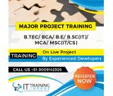MAJOR PROJECTS TRAINING IN INDORE