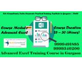 Microsoft Excel Training In Gurgaon