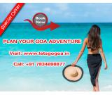 Book Goa Adventure Holidays at letsgogoa.in