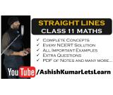Deep Learning Tutorials for Straight Lines Class 11 Maths