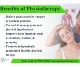 physiotherapy clinic in Bangalore
