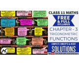 Online Classes for Trigonometric Functions Class 11 Maths