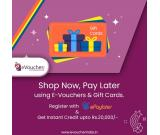 Buy Gift Vouchers Online | Gift Cards Online | E Gift Vouchers in India | eVoucher India