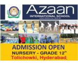 Azaan International School And Admission Are Open