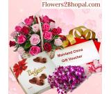 Fill your dear ones heart with sweetness by sending delicious Cake Online to Bhopal