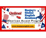 Beejays Learn from HOME how to Master American Accent Online / Live Classes