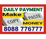 data entry jobs   how to earn money online   1527    Daily payment