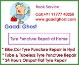 Home Bike, Car Puncture Repair in Hitech City, Madhapur Hyderabad