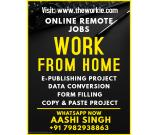 Typing Ad Posting Form Filling Jobs Work From HOme