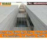 Gagan Duct area safety nets | duct bird netting | duct anti pigeon nets in bangalore