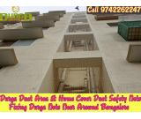 Durga Duct area safety nets | duct area pigeon nets in bangalore