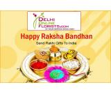 Send Rakhi Gifts to Delhi for your Brother on the Same Day at Cheap Price