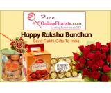 Order Online Rakhi Delivery in Pune on the Same Day with Free Shipping Service