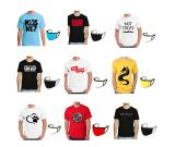 Buy Printed T-shirts and Get Free Mask