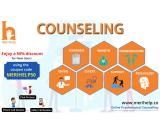 Get counselling from expert online counsellors of India for Stress, depression, and anxiety.