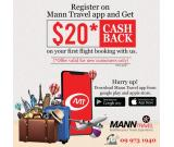 Easy Flight Booking with Mann Travel