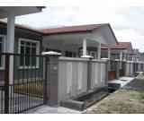 Single Storey Terrace House, Rembia