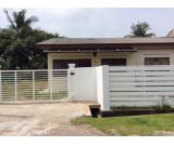 Corner single storey terrace house for rent in MELAKA !