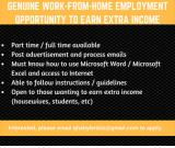 Home Based Data Entry Typist