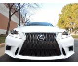 Lexus IS 350 GCC white 2015