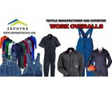 Zephyrs Textile products list