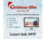 Get 25% discount on this Christmas Send Thousand Emails