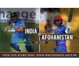 India vs Afghanistan Live Cricket Score Streaming, Asia Cup 2018