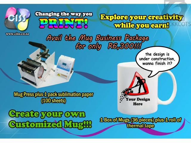 Customized Mug Printing Business Package - Free classifieds