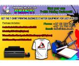 Customized T-Shirt Printing Business Package