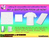 Sublimation Blanks and Other Printing Consumbles