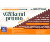 PTE ACADEMIC WEEKEND PROMO – March 17, 2018
