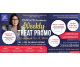 JROOZ PTE AND CELPIP ACADEMIC WEEKLY TREAT PROMO – April 13 to 17, 2019