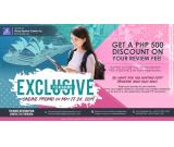 JROOZ EXCLUSIVE PTE ACADEMIC ONLINE PROMO from May 17-24, 2019
