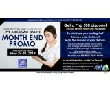 JROOZ PTE Academic Online Month End Promo May 24-31, 2019