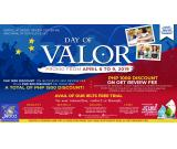 JROOZ IELTS & OET Day of Valor Promo April 6-9, 2019