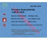 Factory supply low price Procaine HCL CAS 51-05-8 with high quality +86 19930507977