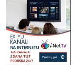 iNet Tv 140+ EX YU channels, your tv on the move