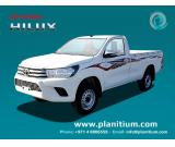 Toyota Hilux Gasoline Single Cab  Pick up 4×4 GL ZT1 MY 2017 from Dubai
