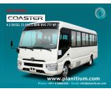 Toyota Coaster Mini Bus 4.2 Diesel 23 Seats ZT2 MY 2017 Export from UAE