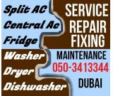 A/c Fridge Service Repairing Fixing in Dubai