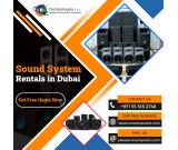 What To Expect With Best Sound System Rental Dubai