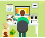 Work for students, mothers on maternity leave, as well as for all active people (salary 700 EUR)